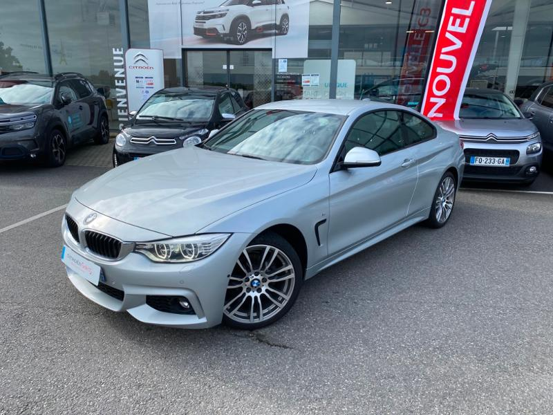 BMW Serie 4 Coupe 420d xDrive 190 M Sport + Options